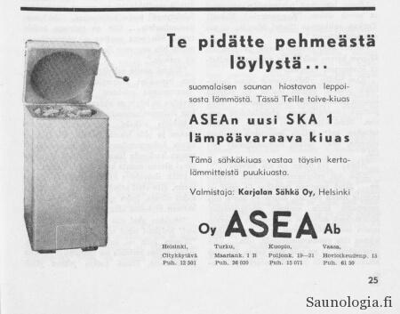 Asea-kiuas 1957