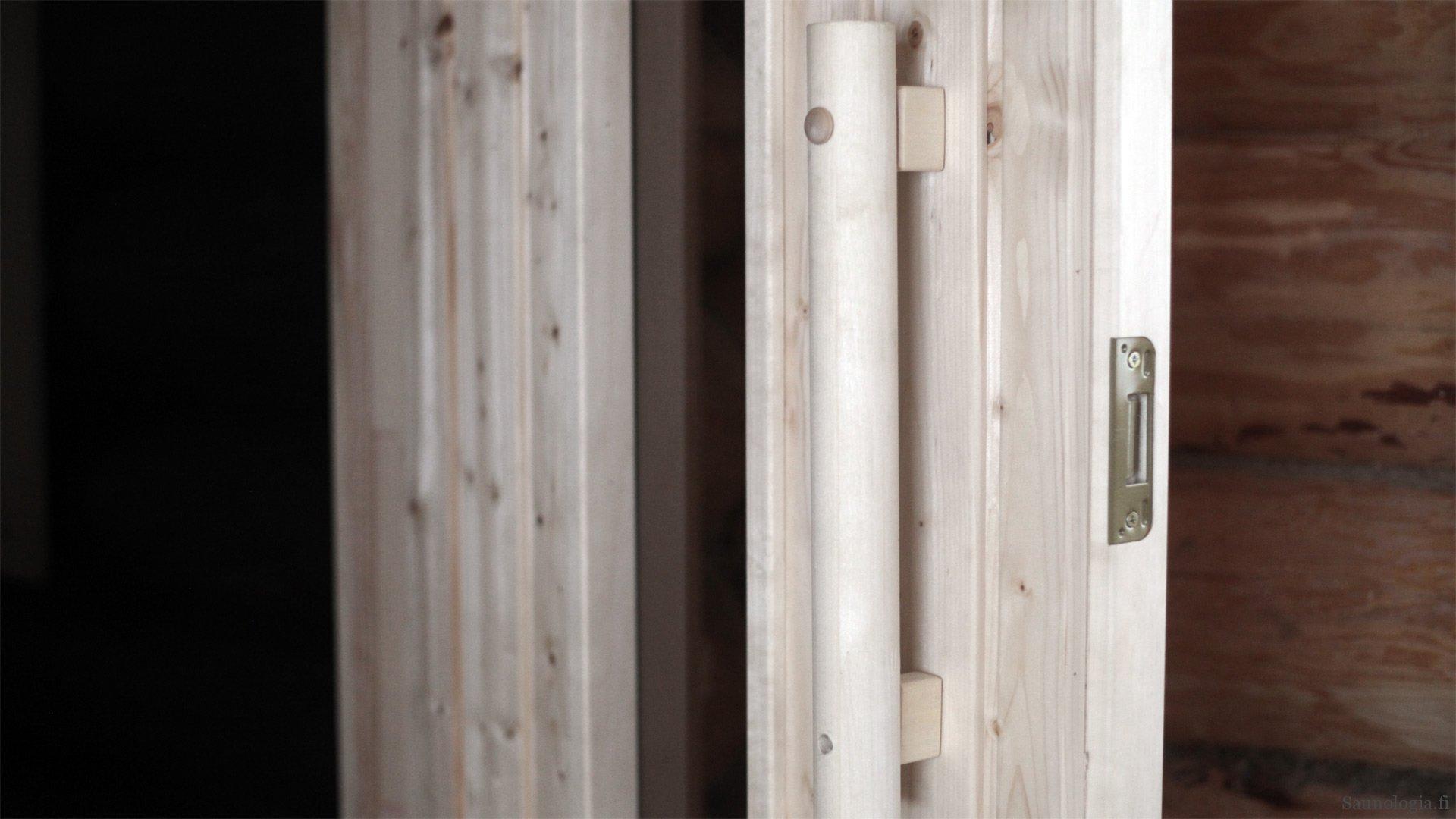 Saunan ovi – mallit ja muotoilu