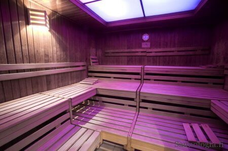 Müllers'ches Volksbadin suomalainen sauna.