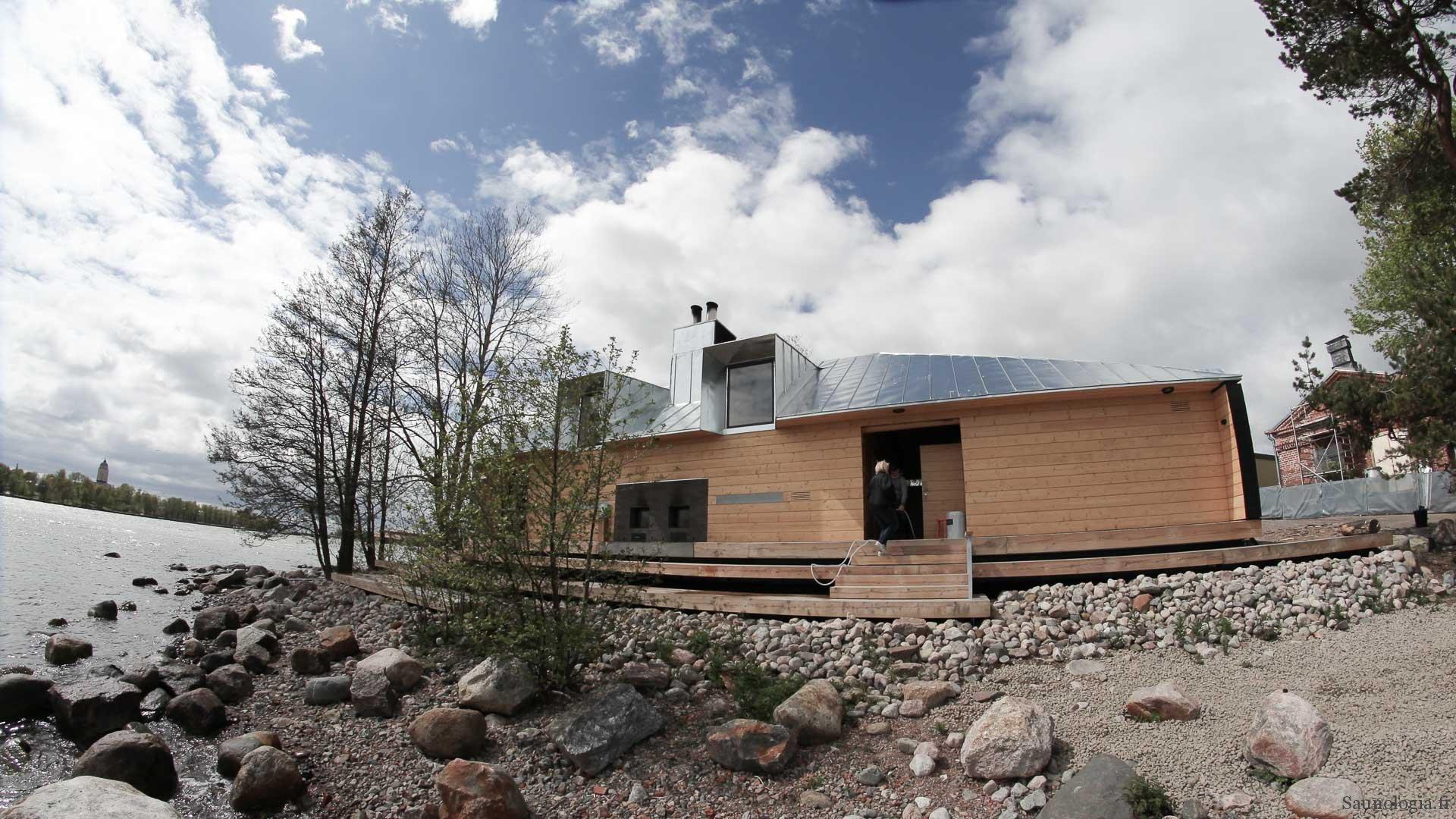 Lonnan sauna Helsingissä tarjoaa klassiset löylyt