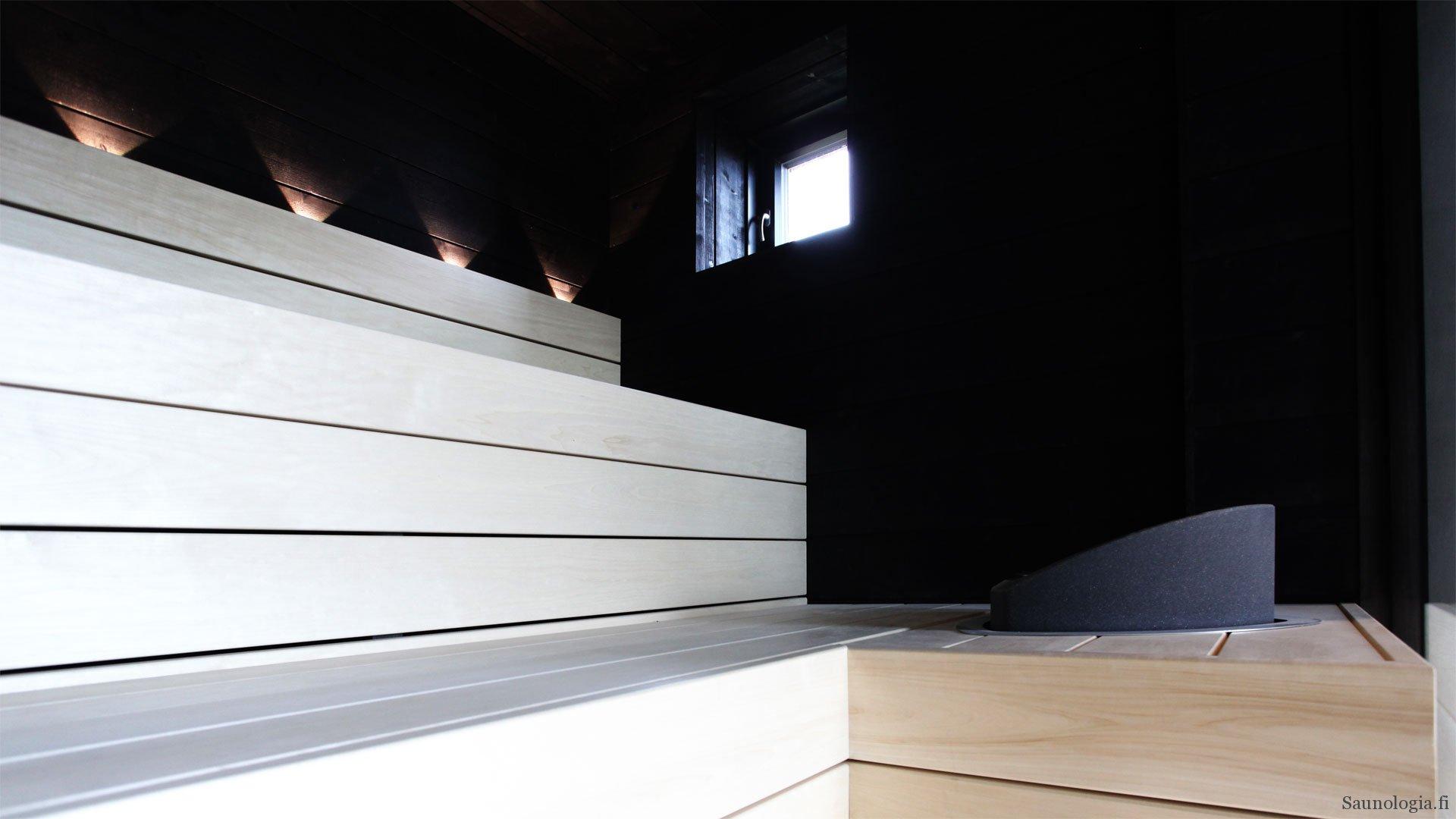 Asuntomessujen 2017 saunat