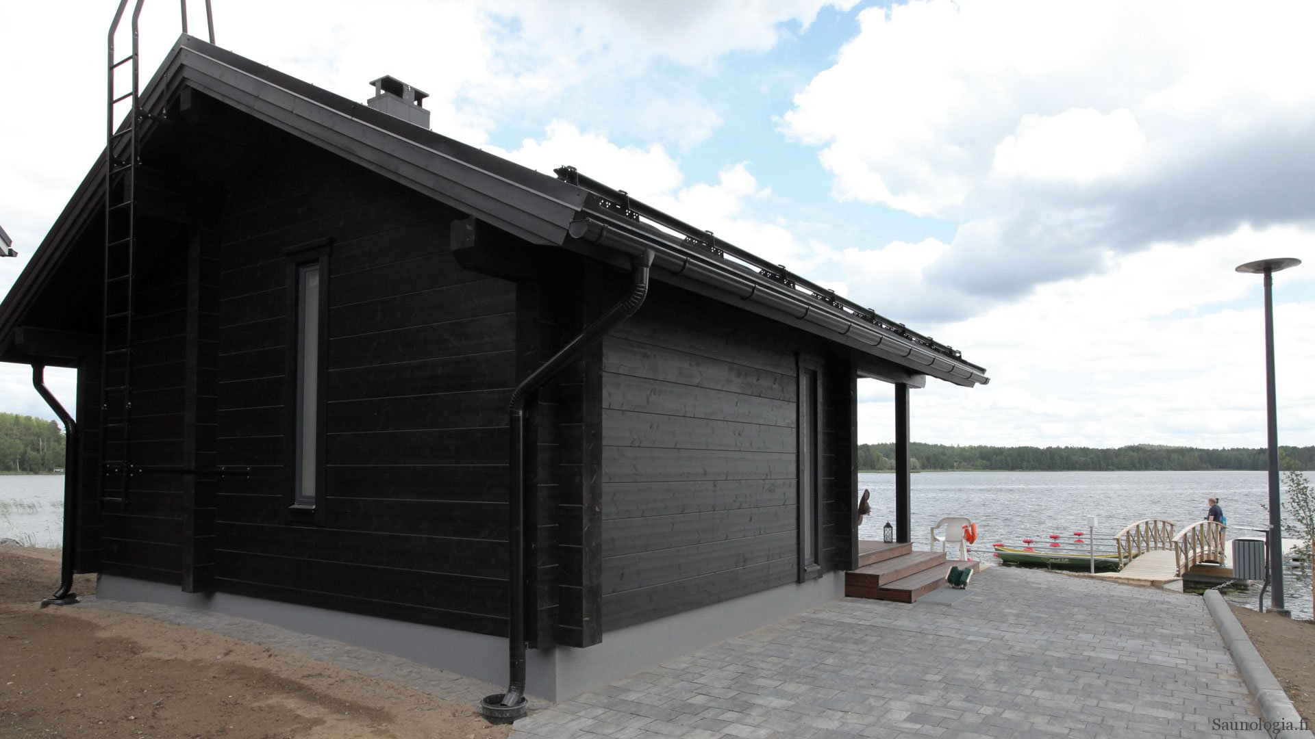 How big should a Finnish sauna be?