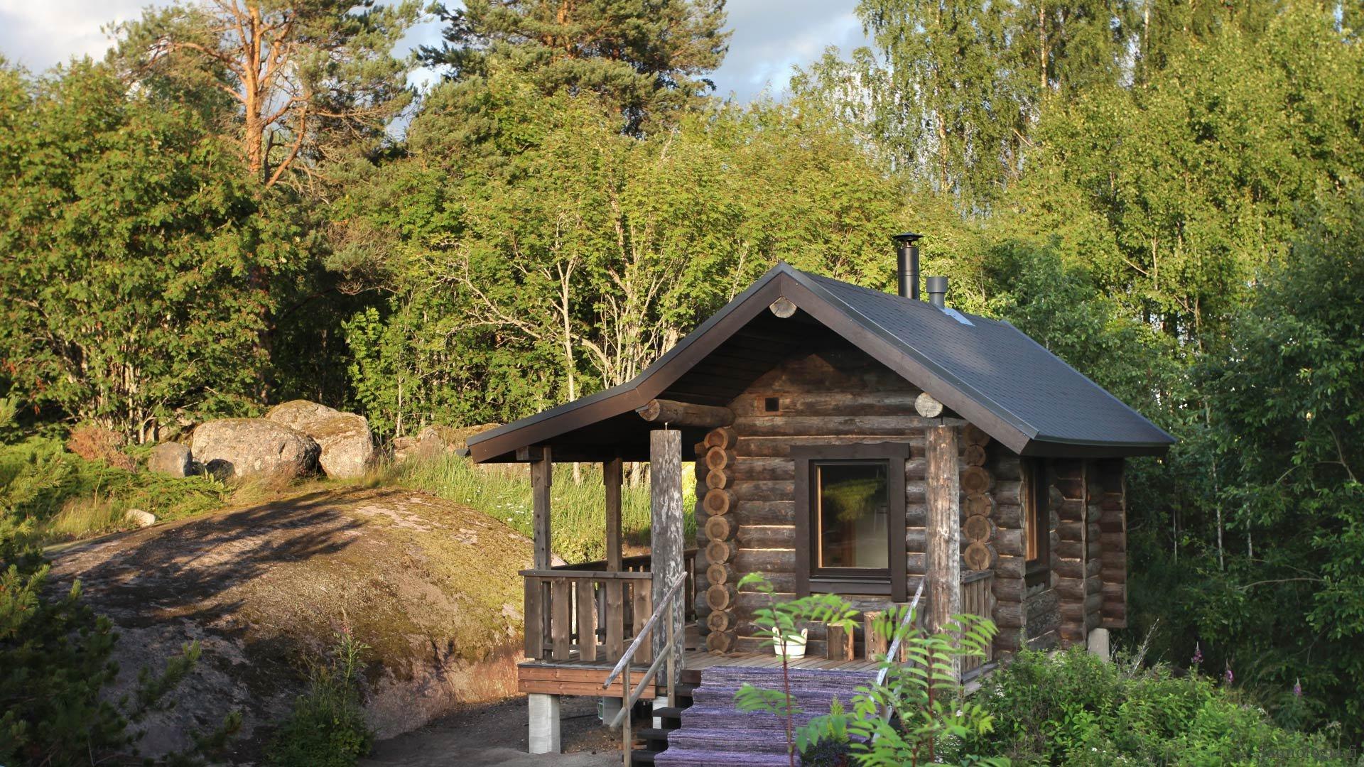 Esittelyssä valmistunut Suvikallion sauna – trofeesauna ja hybridisauna
