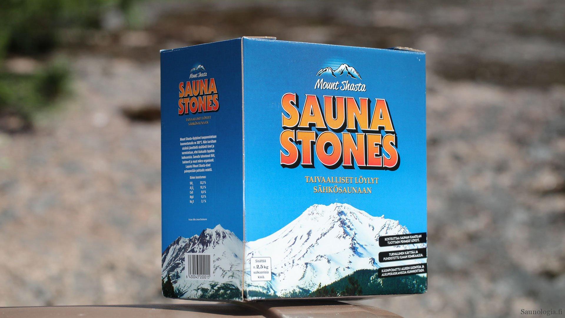 Pikatesti Mount Shasta Sauna stones – California steaming