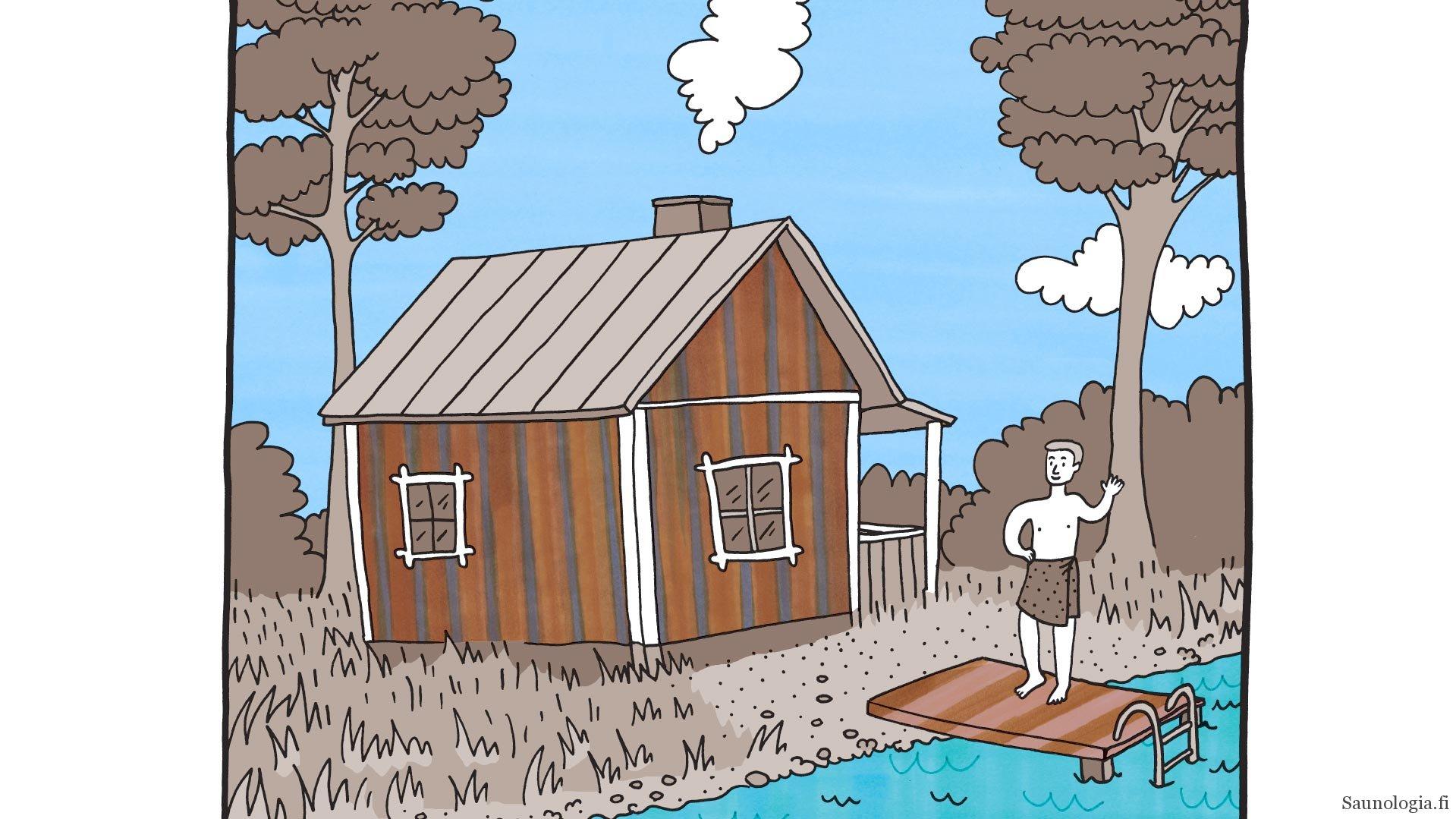 Saunomisohjeet ulkomaalaisille ja maahanmuuttajille – Instructions How to enjoy a Finnish Sauna Bath