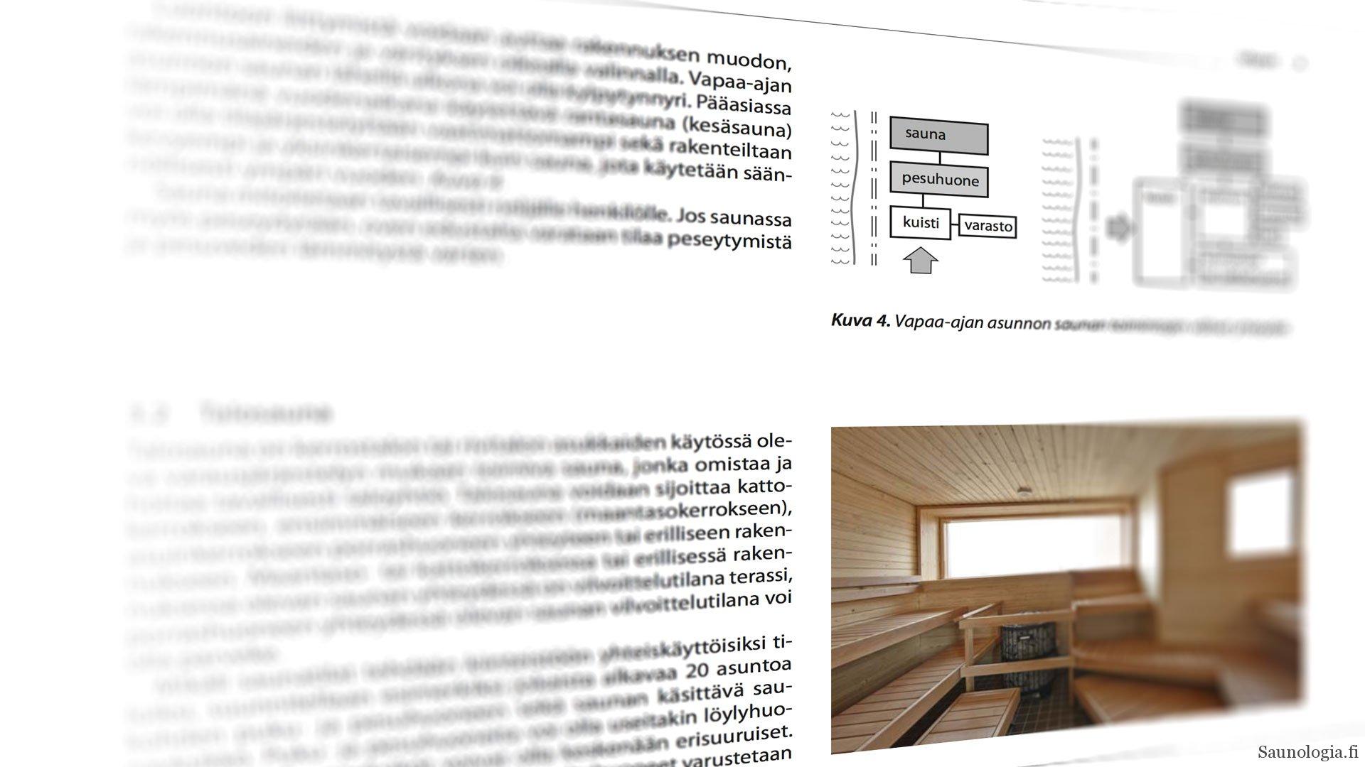 Virallinen saunanrakennusohjeisto päivittyi – RT:n saunakorttiuudistus