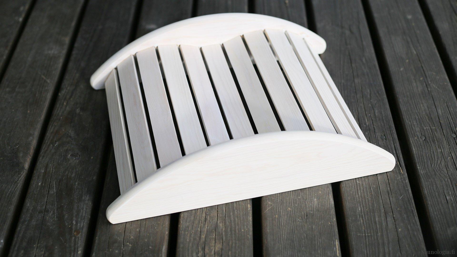 Pikaohje: saunatyynyn tuunaus – päänalusesta sisustuksen sopiva