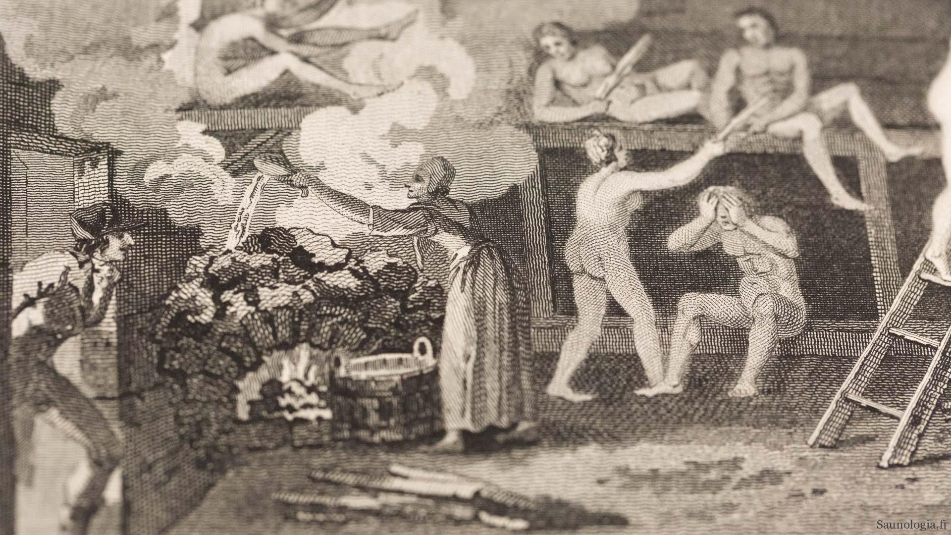 Suomalainen sauna vuonna 1799 Giuseppe Acerbin silmin