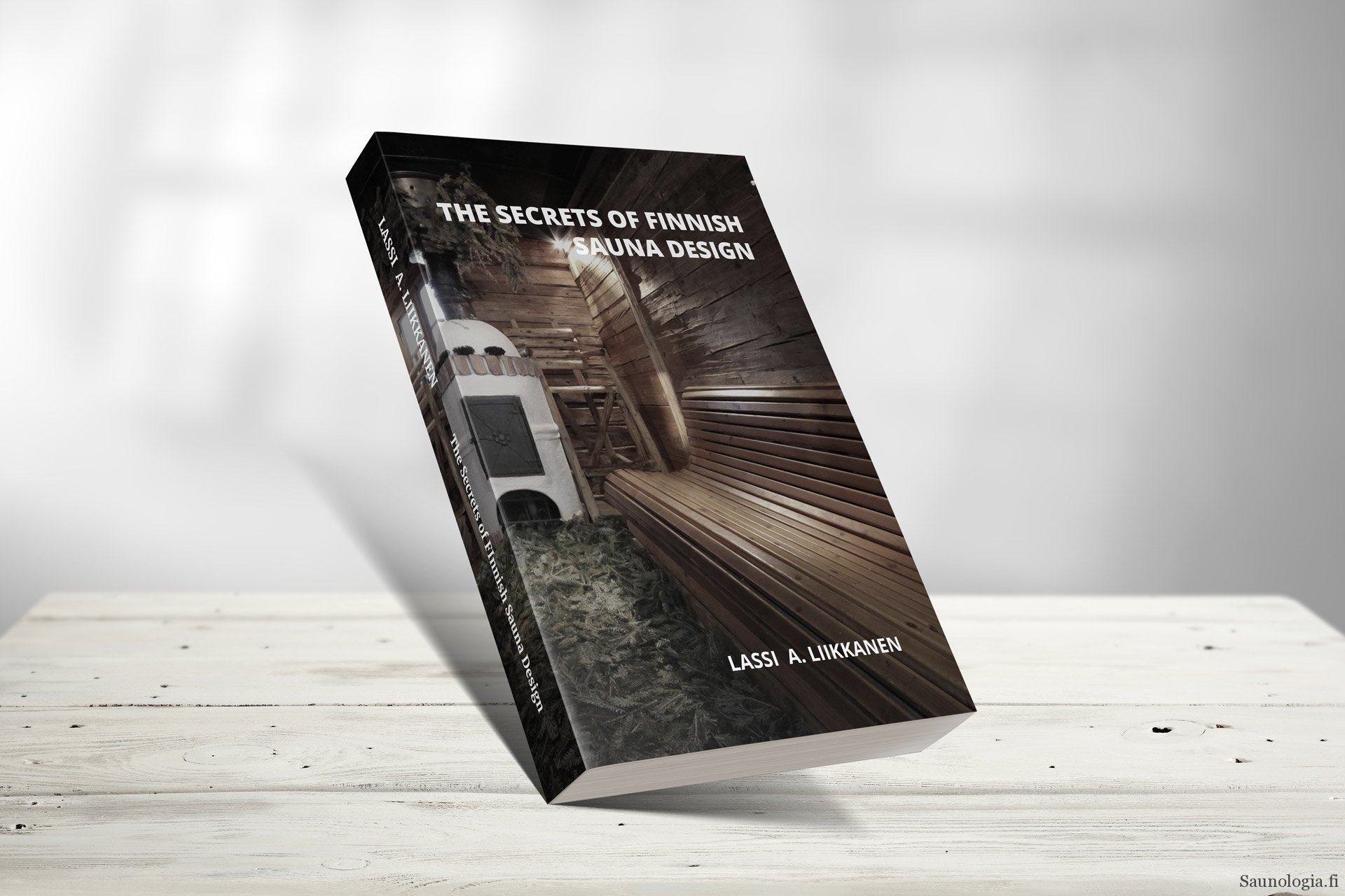 Secrets of Finnish Sauna Design book now on Kickstarter!