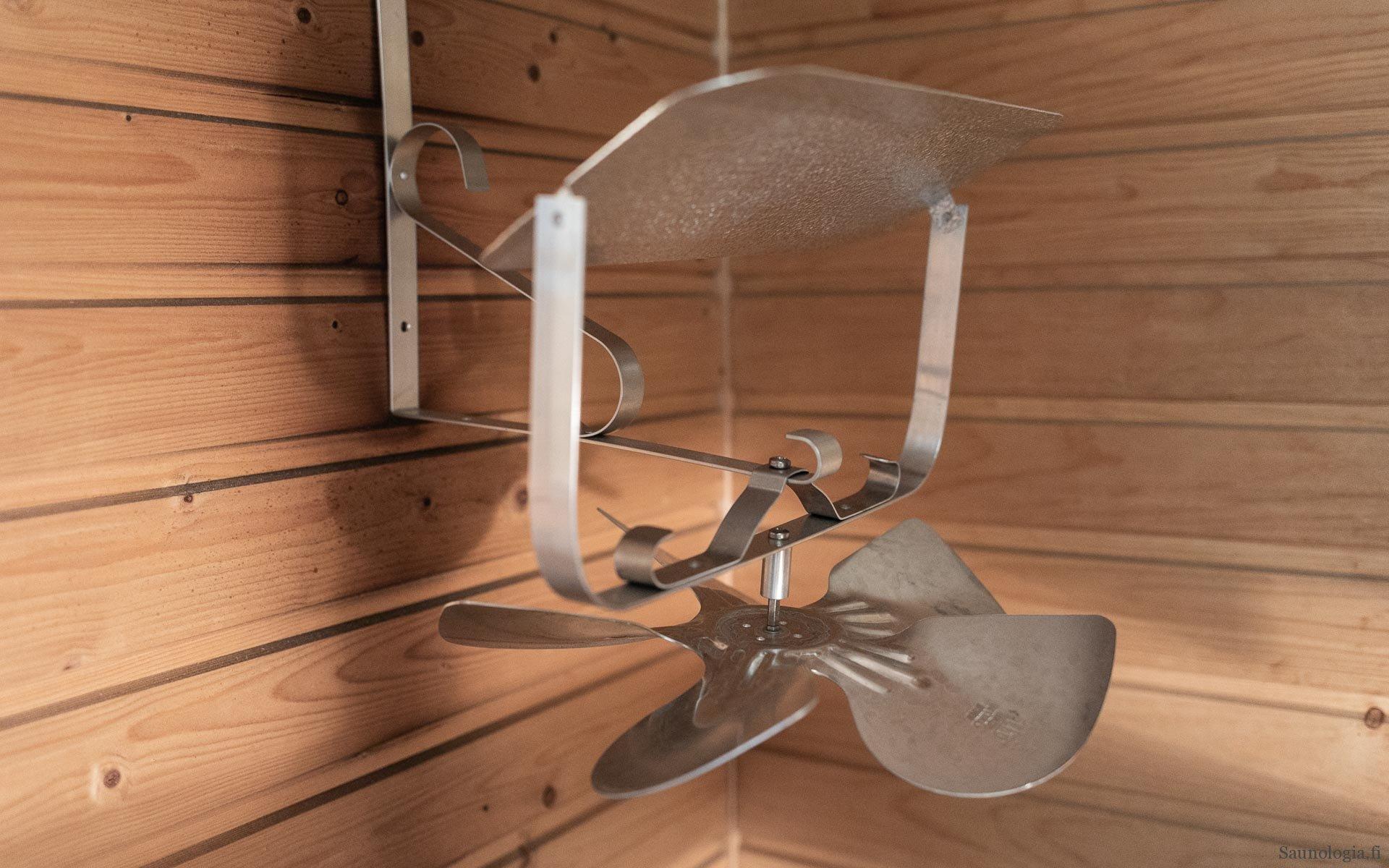 Pikatesti: Lempeät löylyt saunatuuletin turbo