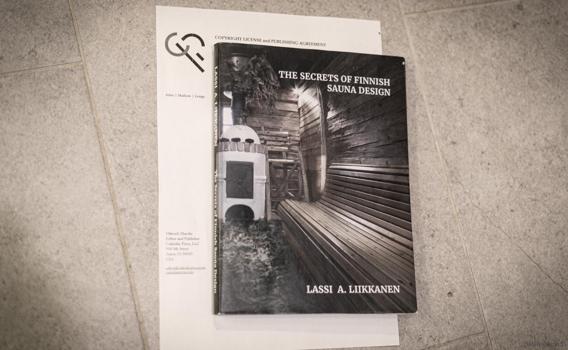 Saunologin seuraavan kirja kuvitus kaipaa innostavia saunoja!