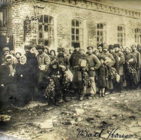 valokuva Venäjältä 1900-luvun alusta