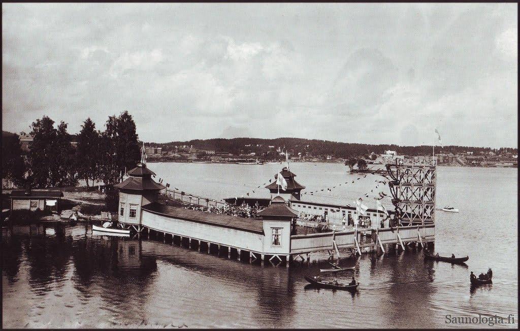 kuopio-Vainolanniemen uimala 1929