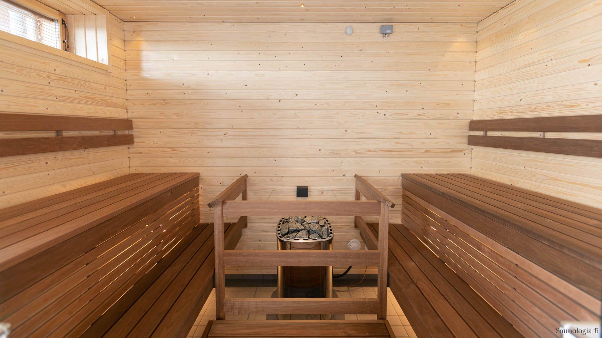Miksi taloyhtiön saunassa on hyvä olla kuuma