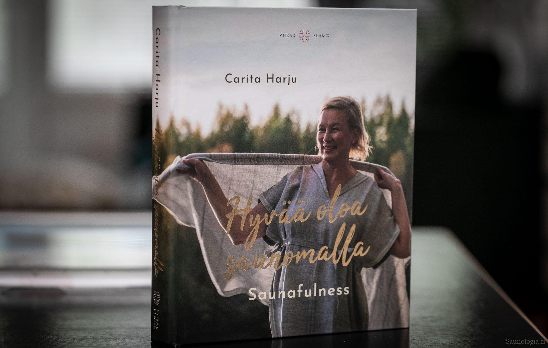 Kirjaesittely: Carita Harju Saunafulness